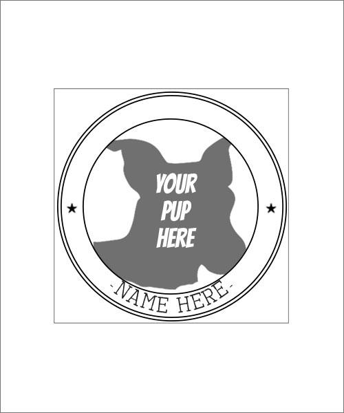 Stampics Pet Rubber Stamp