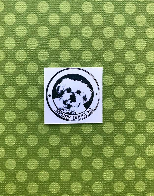 pet rubber stamp