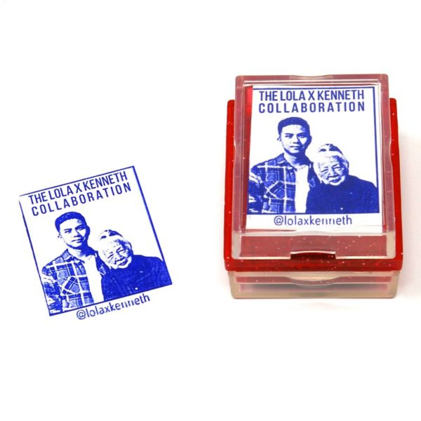 custom photo rubber stamp