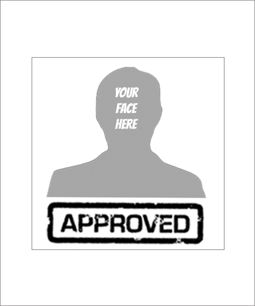 Stampics Create your own Approved Rubber Stamp