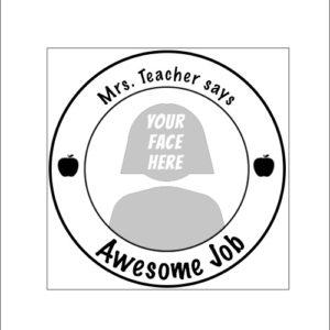 Stampics Teacher Rubber Stamp