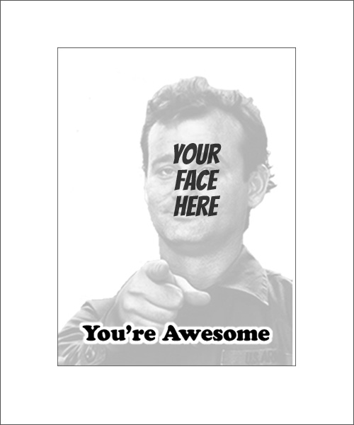 Stampics You're Awesome Rubber Stamp