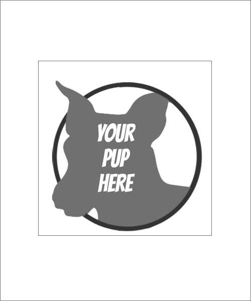 Stampics Dog Rubber Stamp