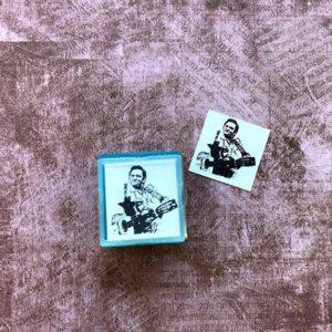 cash rubber stamp