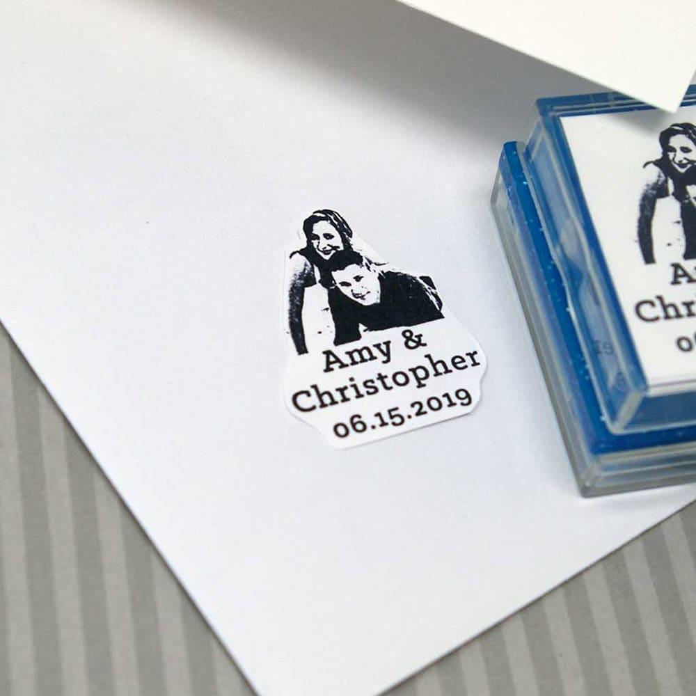wedding rubber stamp