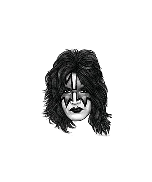 Kiss - Ace Rubber Stamp