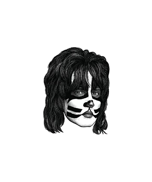 Kiss - Peter Rubber Stamp