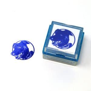 Dog Rubber Stamp