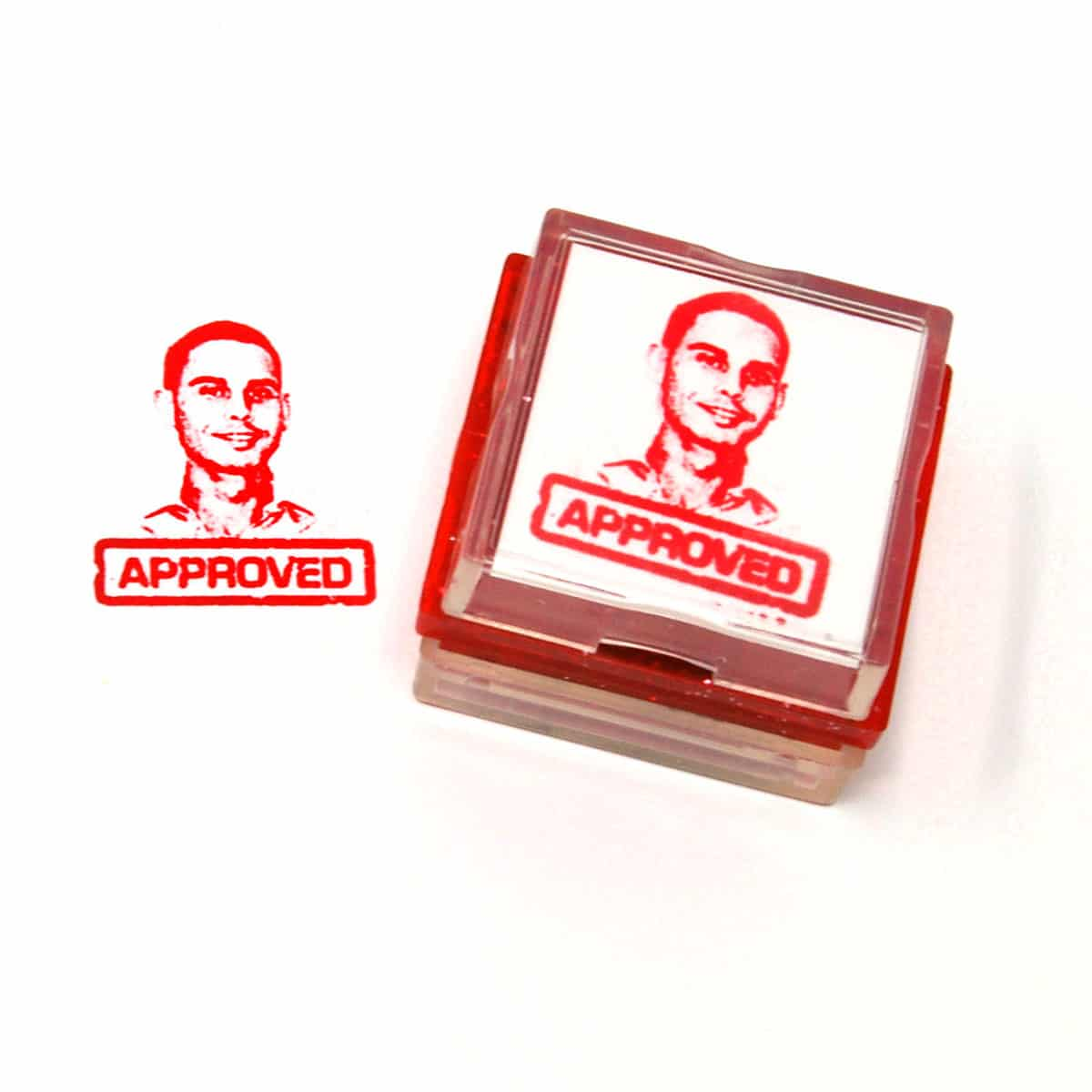 Classic Approved Rubber Stamp