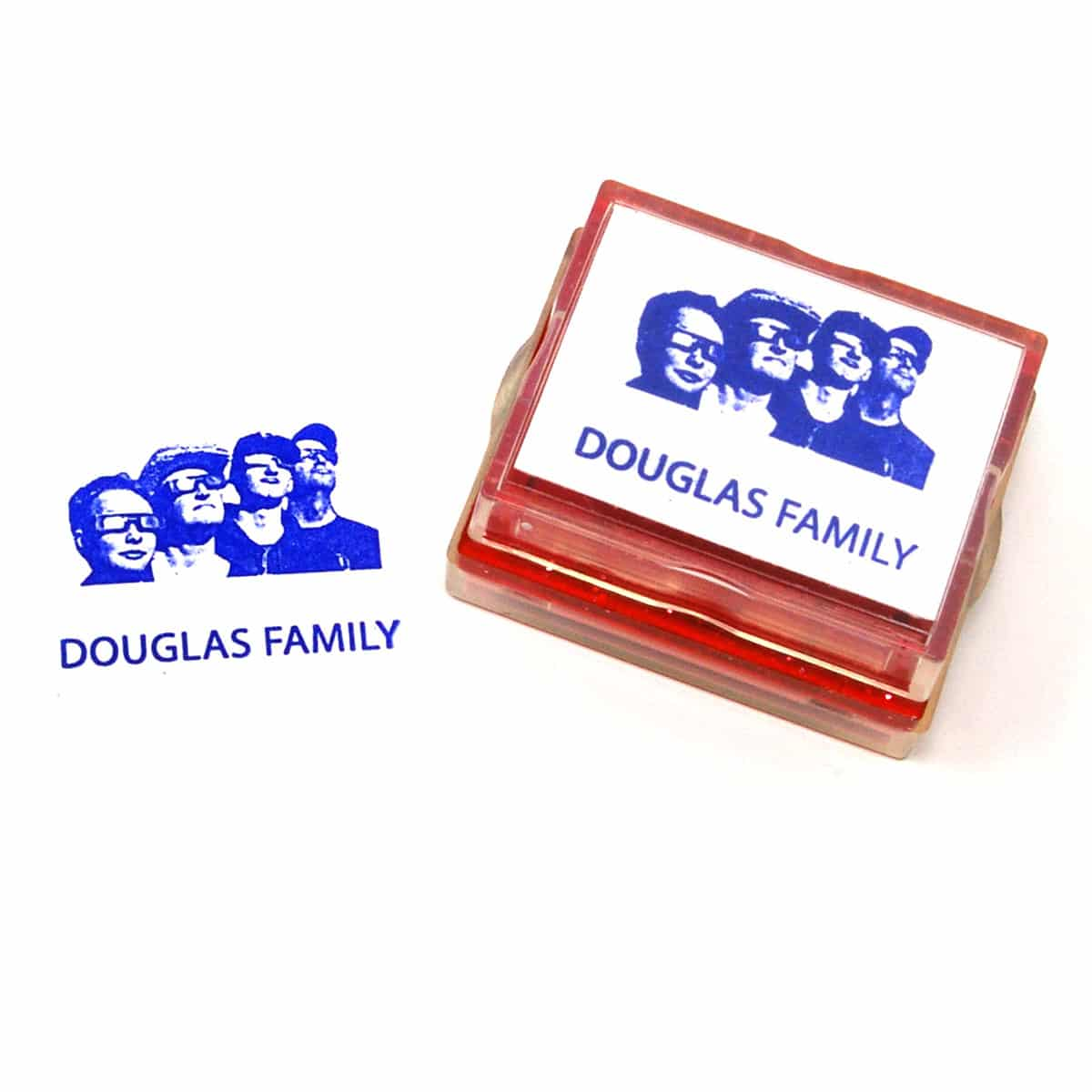 family rubber stamp