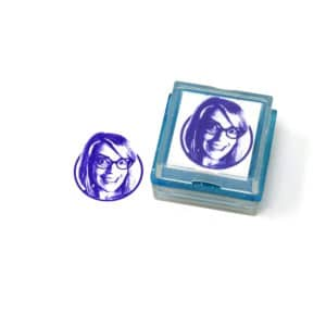 Larger Than Life Custom Rubber Stamp