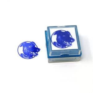 Dog Photo Rubber Stamp
