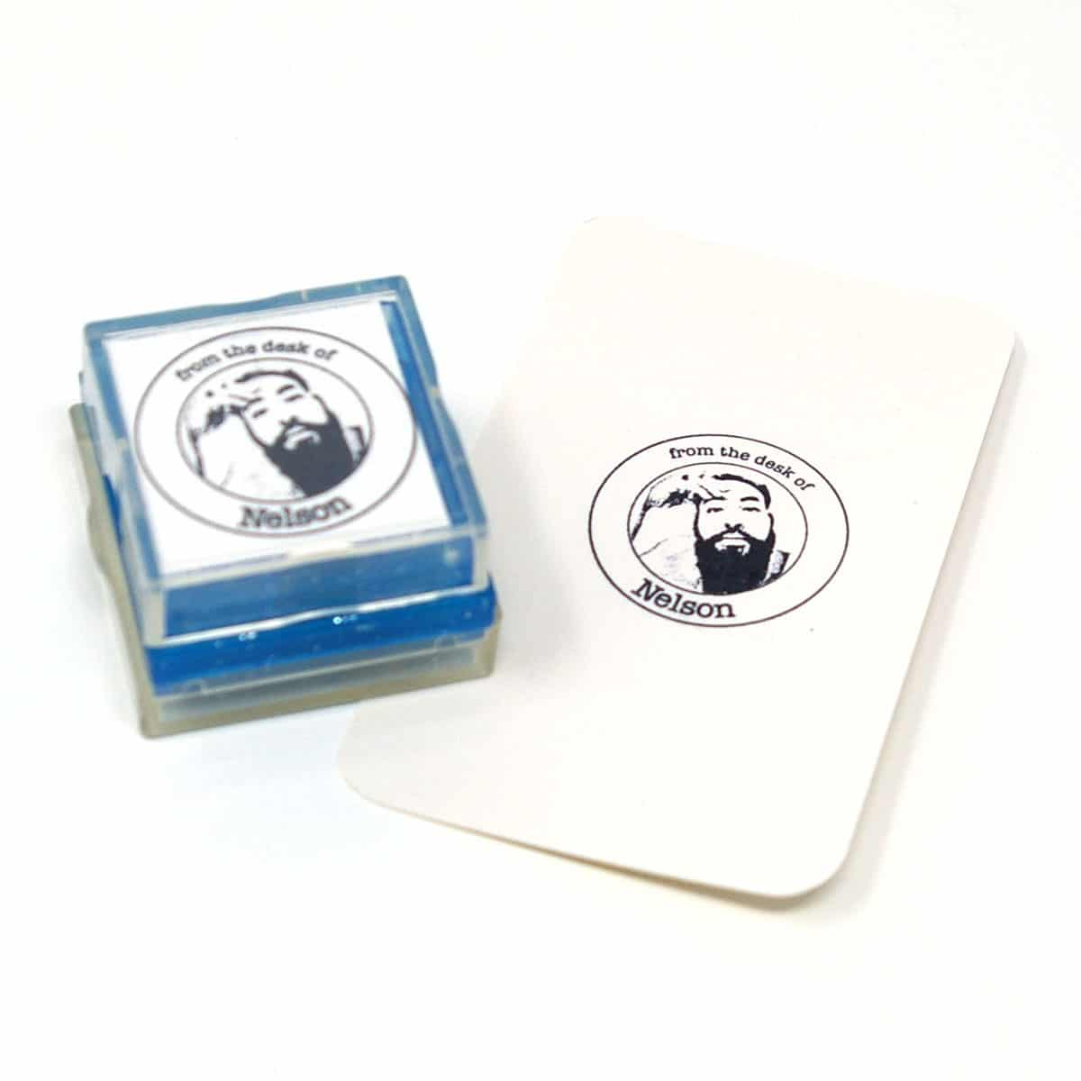 photo rubber stamp