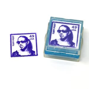 US Postage Rubber Stamp