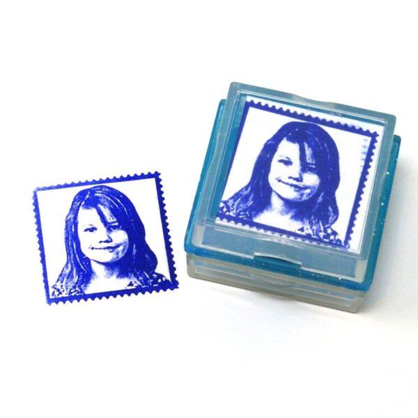 Postal rubber stamp