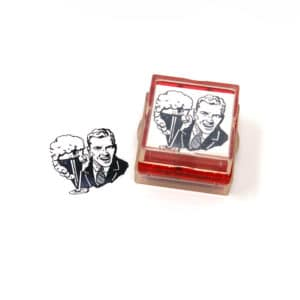 Retro & Vintage Rubber Stamps