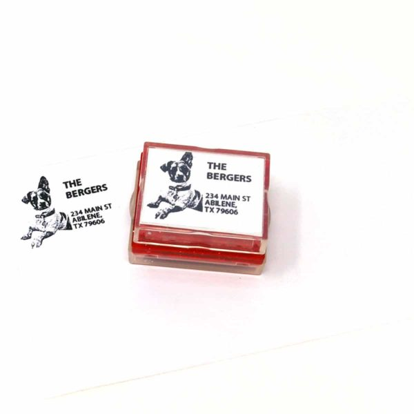 Return Address Rubber Stamps