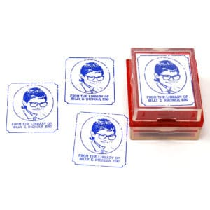 Your Face Here Rubber Stamps