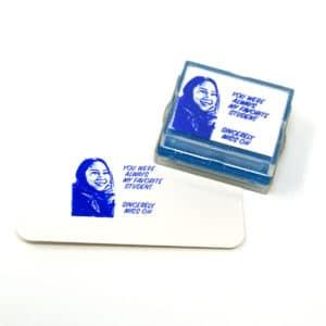 custom teacher rubber stamp