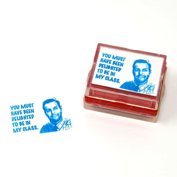Rubber Stamp made from photo