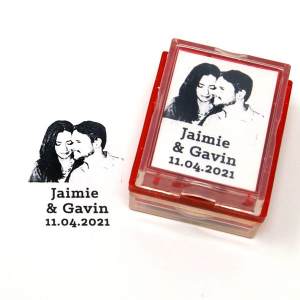 Wedding Rubber Stamp
