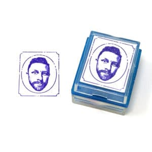 vintage rubber stamp
