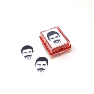 funny face stamp