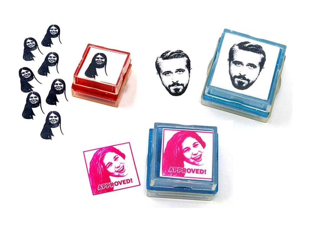 Custom Rubber Stamps made from your photos