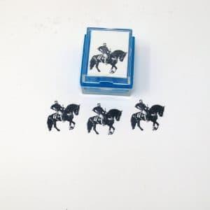 custom horse rubber stamp